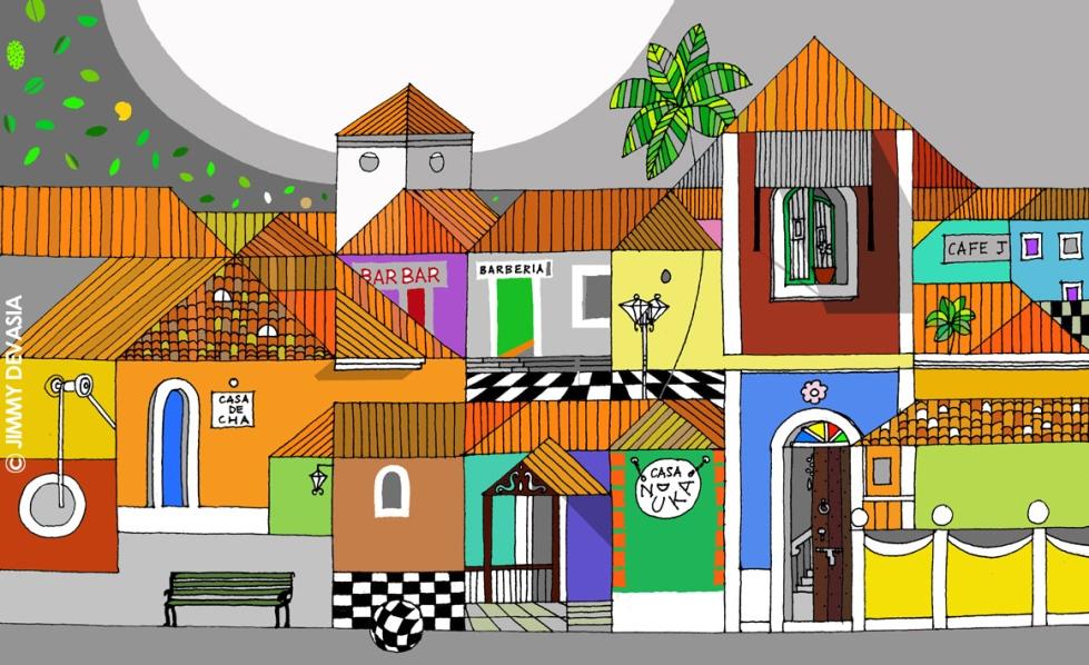 Latin quarter Panjim